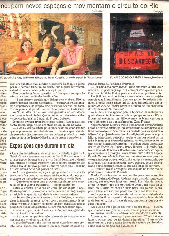 18 Fumacê - O GLOBO 2005