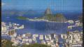 Pintura de Retoque - Baía de Guanabara. Guache e puzzle. 2006