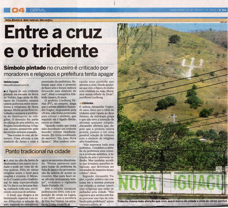 Jornal O DIA  15 de Agosto de 2006