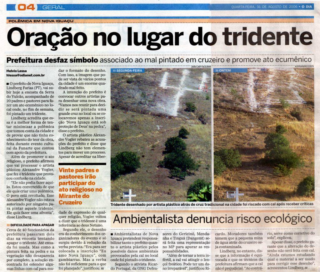 4 Jornal O DIA  16 de Agosto de 2006