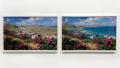 Pintura de Retoque - Ilha do Caribe. Mostra Caos e Efeito. cur Tadeu Chiarelli. 2012. Foto Rafael Adorjan
