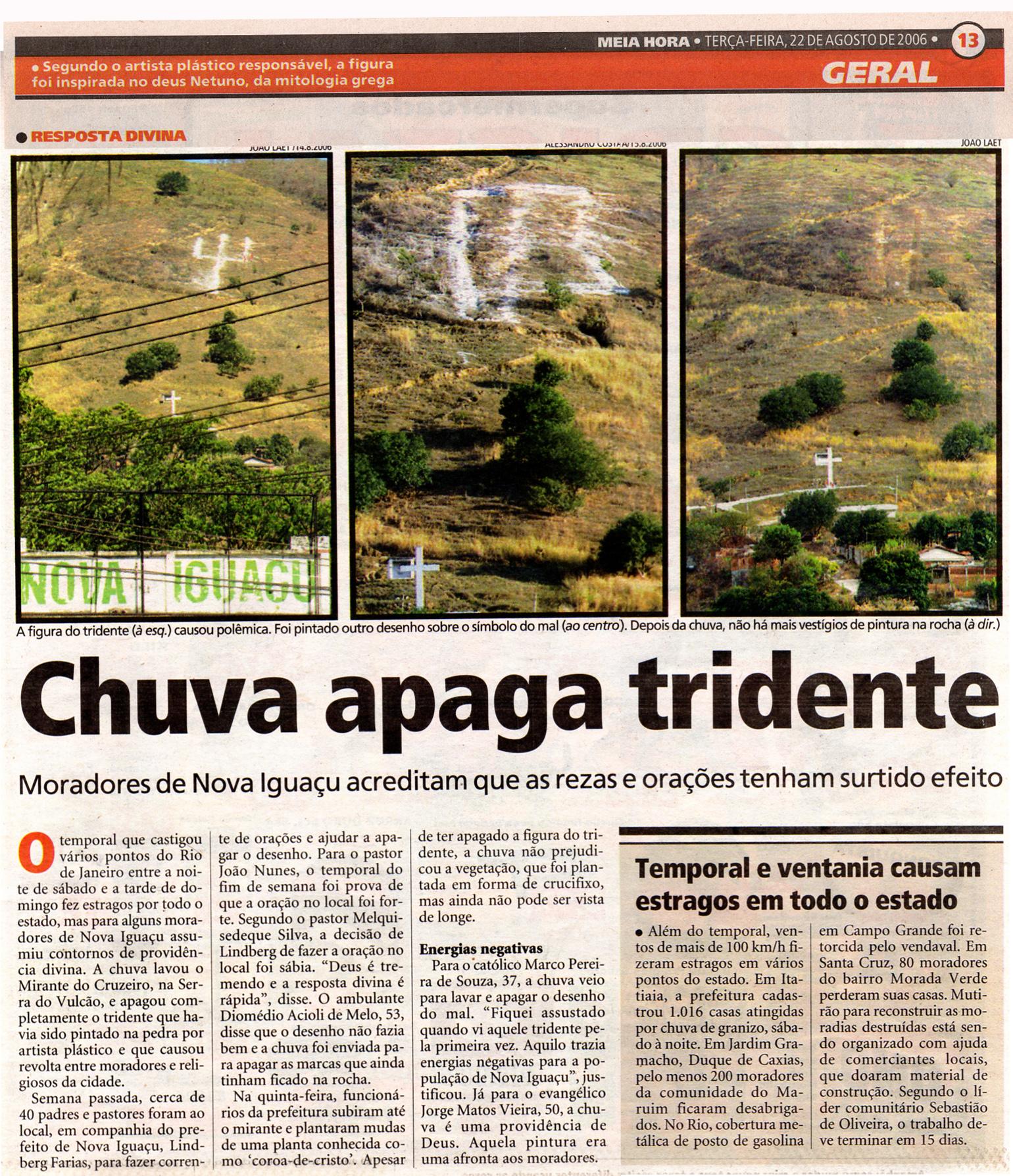 6 Jornal Meia Hora  22 de Agosto de 2006