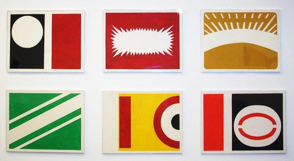 O Triunfo do Projeto Construtivo Brasileiro. Versão 1. Exibido na mostra Investigações Pictoricas. cur Daniela Labra. MAC - Niteroi. 2008